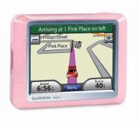 Garmin Pink Nuvi 200/250 GPS navigaator