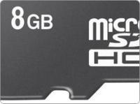 Sandiskilt 8 GB MicroSDHC ja M2 mälukaardid