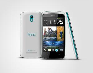 HTC Desire 500 sinine