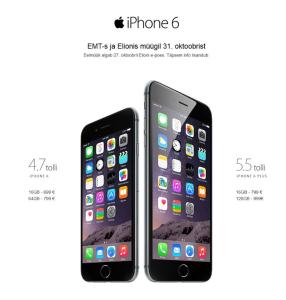 iphone 6 eestis